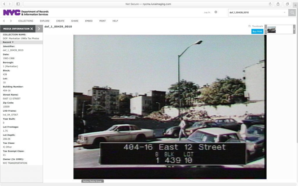 Lot 10, 1983-1988